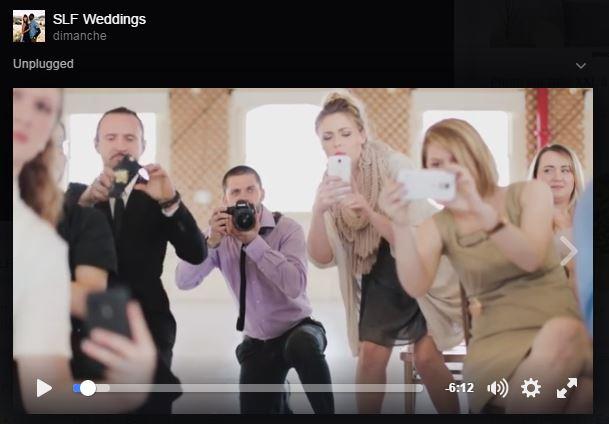 Les Faux-Tographes à un mariage