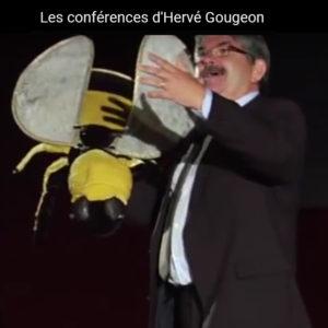 Hervé Gougeon et le bourdon