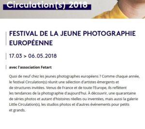 Festival de la jeune photographie européenne