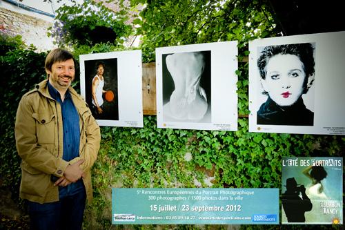 Christian de Brosses à l'Eté des Portraits 2012