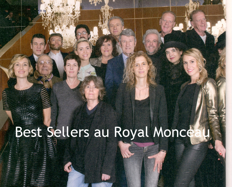 Best Sellers 2015 au Royal Monceau