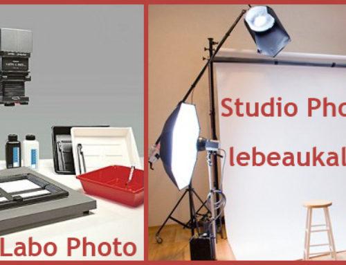 Connaissez-vous la différence entre un laboratoire photographique et un studio photo ?