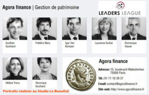 Portraits Corporate Agora Finance