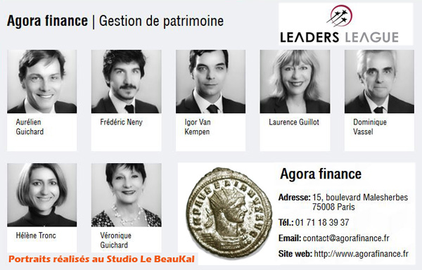 Portraits Corporate Agora Finance