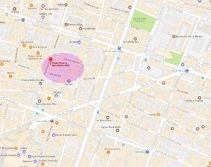 Plan du BeauKal Studio Photo à Paris