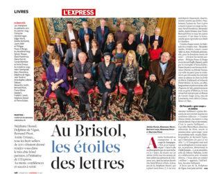 Mercredi 7 mars 2012 au Bristol : les auteurs francophones les plus lus de l'année 2011