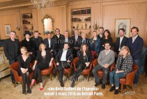 Les Best Sellers de l'Express 2014 au Bristol