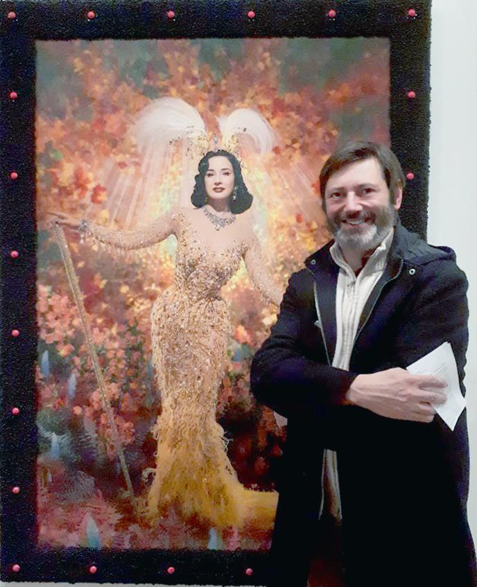 Dita Von Teese par Pierre et Gilles Galerie Templon