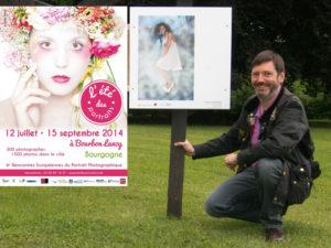 Christian de Brosses à l'Eté des Portraits 2014