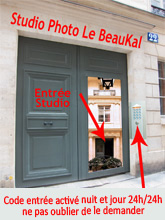 Studio photo à Paris Le BeauKal