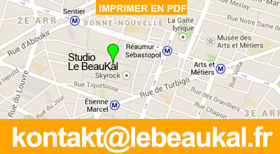 plan du studio photo sur google